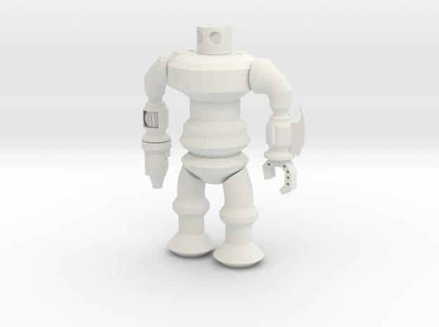 Robotspline Power in White Natural Versatile Plastic