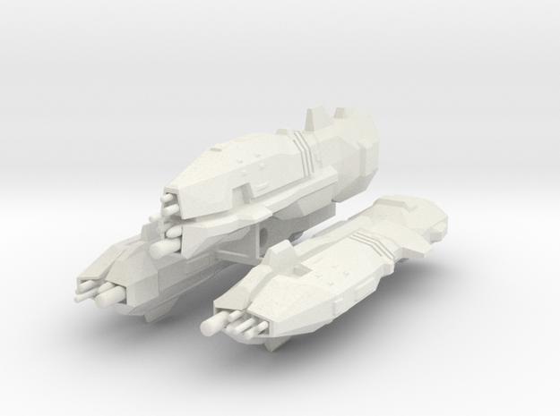 USF Light Cruiser x 3 3d printed
