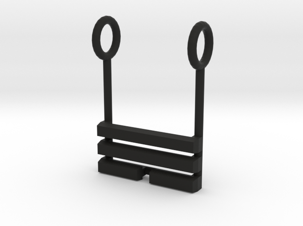 I Ching Trigram Pendant - Sun Lower 3d printed