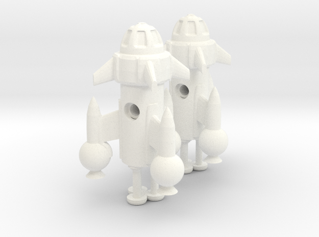 "R-Rocket ""Mercury""-Class Tiny 3d printed"