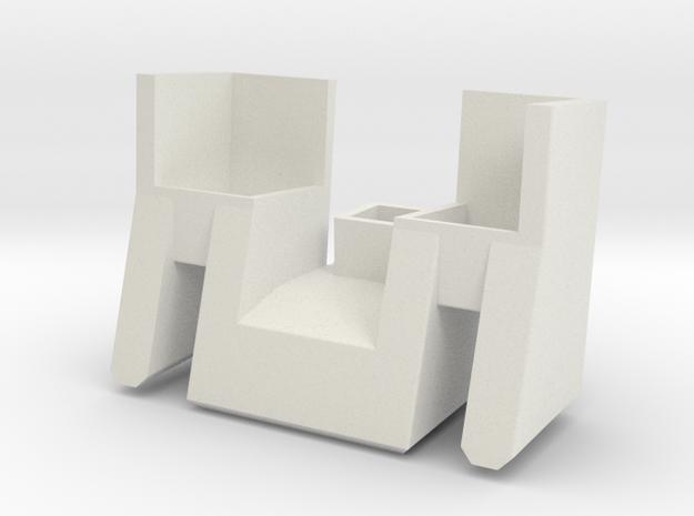 Prowl Filler 3 in White Natural Versatile Plastic