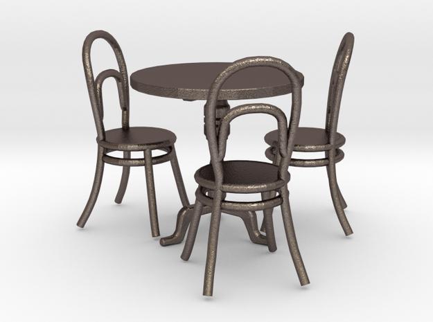 tafel rond set 3d printed