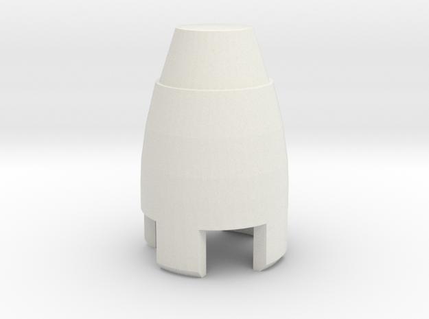 eccleston sonic cap in White Natural Versatile Plastic