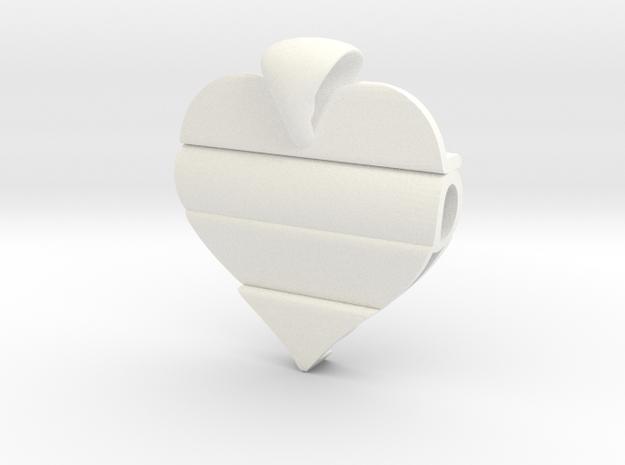 Secret Love Pendant 3d printed