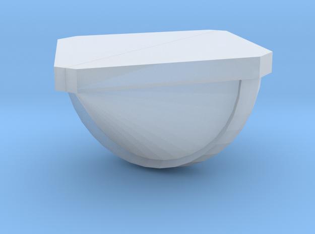 verzonken torpedo dakluchter 3d printed