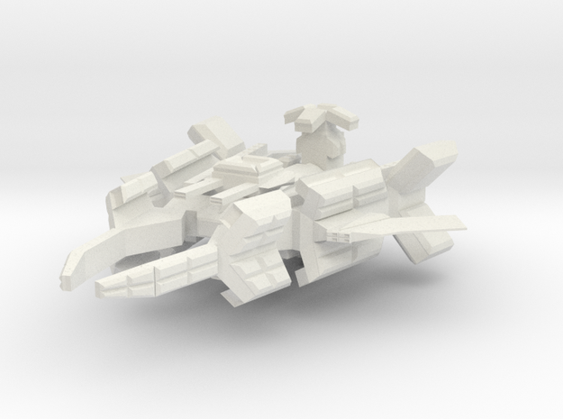 Space Force RRF Frigate in White Natural Versatile Plastic