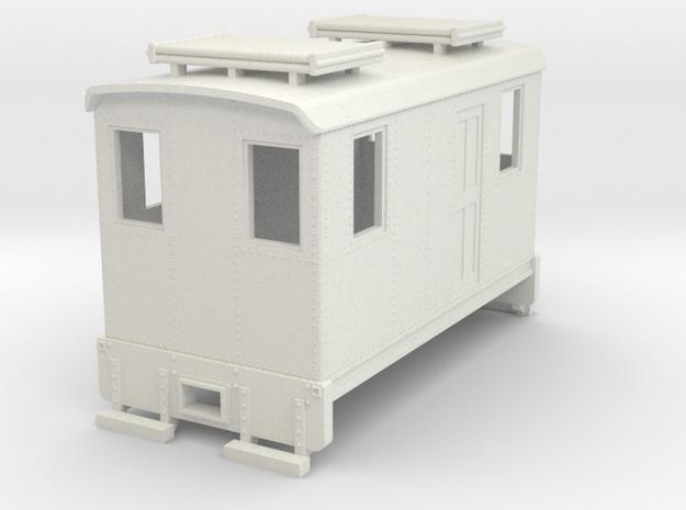 Hon30 short boxcab loco in White Natural Versatile Plastic