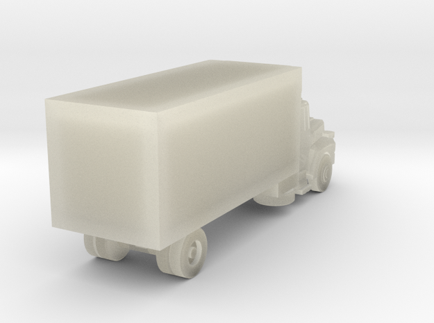 Mack Refrigerator Truck - Z scale 3d printed