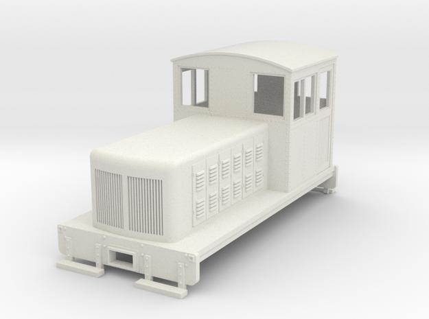 HOn30 Endcab conversion 2 for Kato 11-105 chassis in White Natural Versatile Plastic