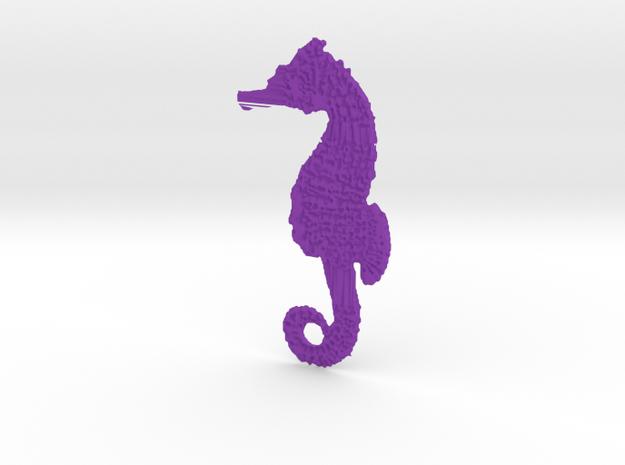 Seahorse 3d printed