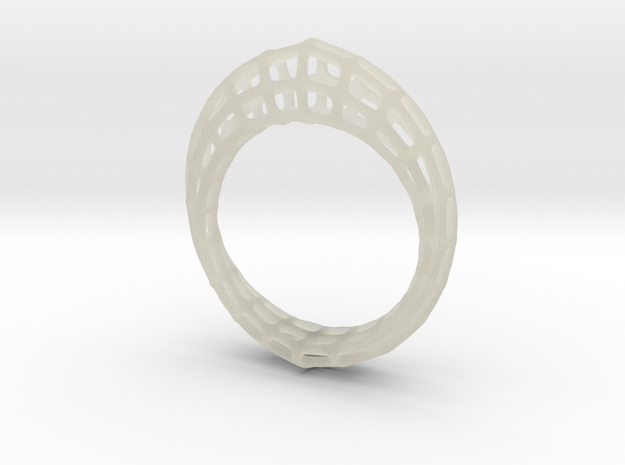 Wireframe  Mobius Strip in Transparent Acrylic