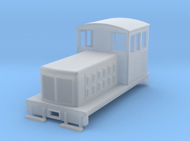 HOn30 Endcab conversion 2 for Kato 11-105 chassis 3d printed