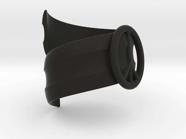Ring Peace 3d printed