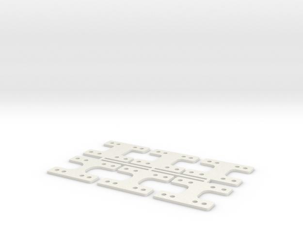 LM-MM 40 THK in White Natural Versatile Plastic