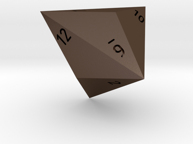 Triakis D12 Sm solid 3d printed