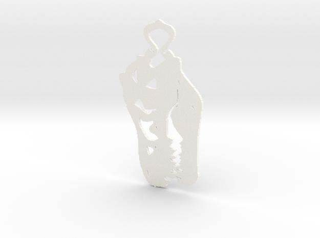 Dino pendant 3d printed