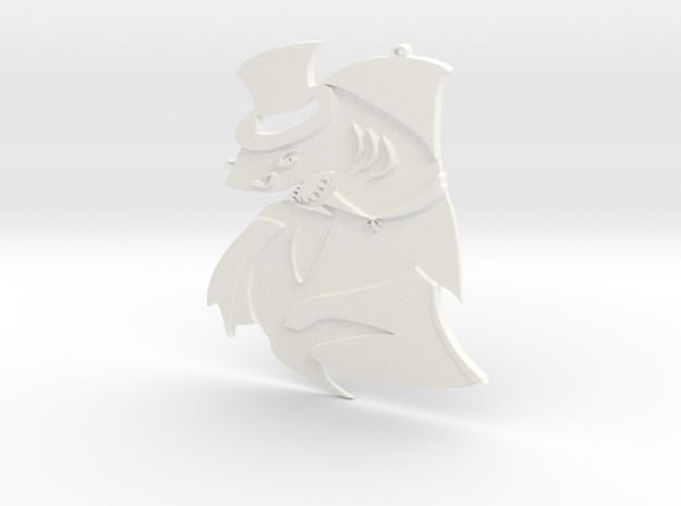 Sinister shark 3d printed