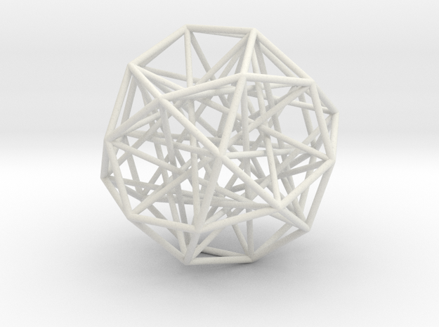Sphere 2 Small in White Strong & Flexible