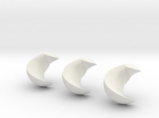 Trisected Marble 3d printed