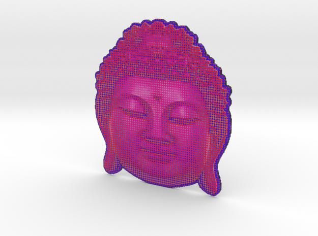 BigBuddhaheadpink 3d printed