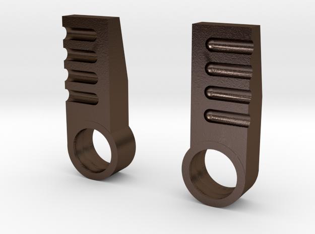 Hench Steel Heels 3d printed