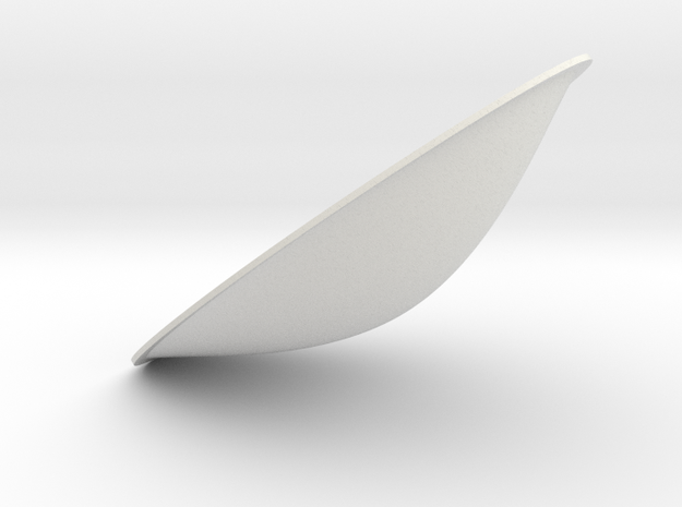 reflector5 in White Natural Versatile Plastic
