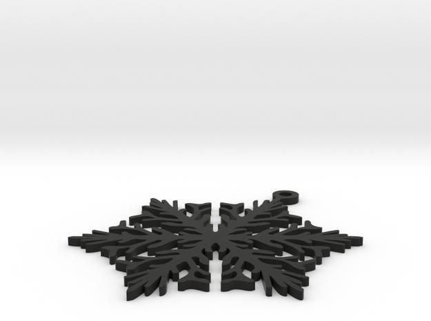 Snowflake 01 3d printed