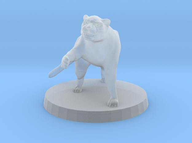 Panther (alone) 3d printed