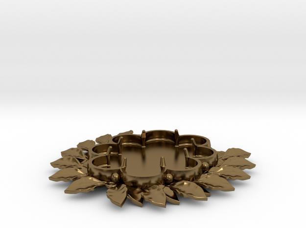 Laurels' Medallion 3d printed