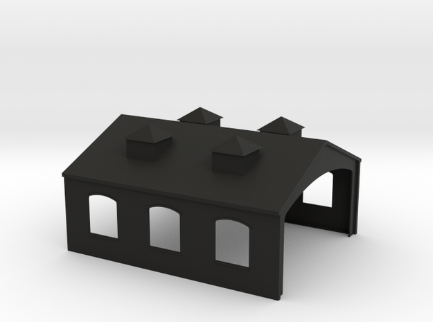 Engine Shed 3d printed