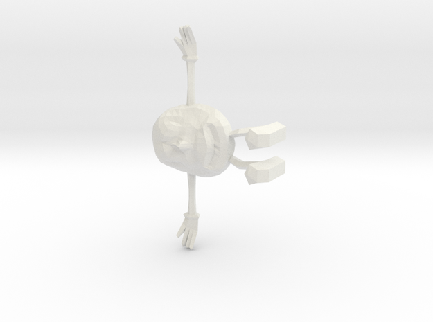 potatoman in White Natural Versatile Plastic