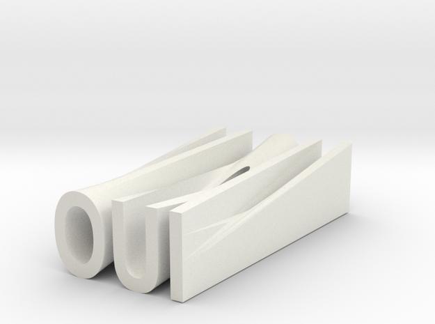 OUI.NON in White Strong & Flexible