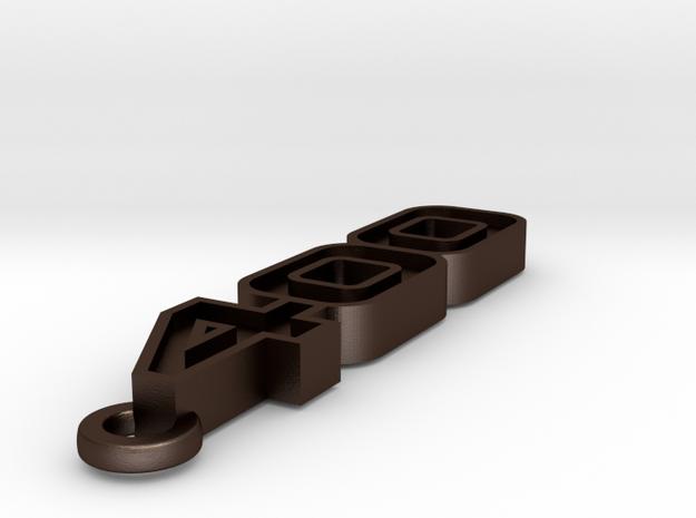 KEYCHAIN LOGO 400 3d printed