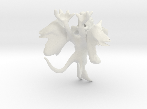 Monster created with Leo 3D Mouse 3d printed