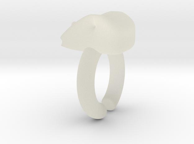 Moli Ring in Transparent Acrylic