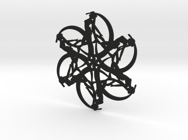 Moonflake 3d printed