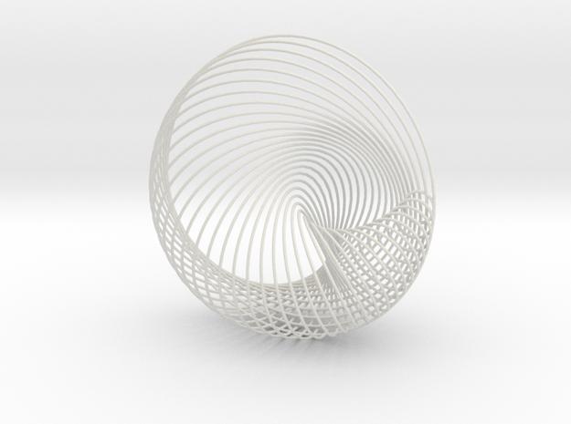 Globesys.5 in White Natural Versatile Plastic