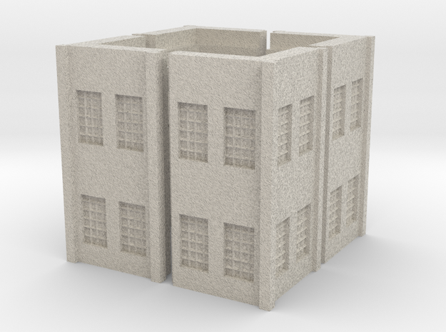 Factory Corner - Z scale 3d printed