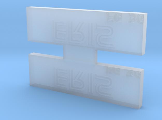 Eris Nameplate in Smooth Fine Detail Plastic