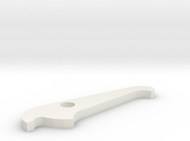 Tarot attache rapide Verrou in White Strong & Flexible
