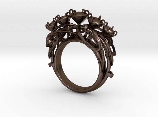 Nature Ring 3d printed