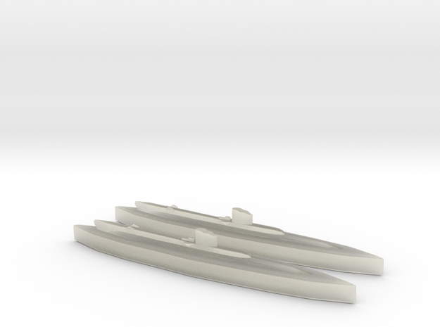 HNoMS Ula (U class) 1:1800 x2 3d printed