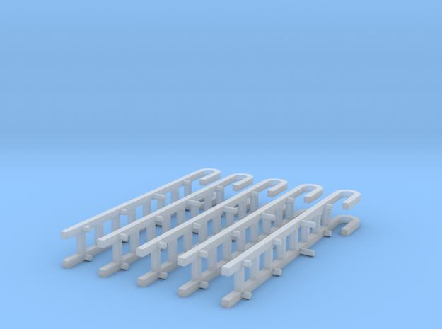 US-Austiegsleiter 5x in Smooth Fine Detail Plastic