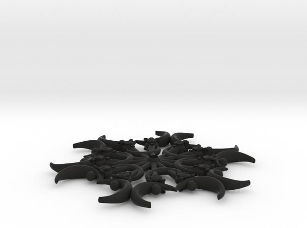 Crescentflake 2.0 3d printed