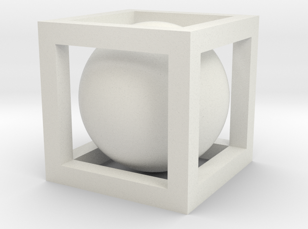 Small Ball In Box 3d printed