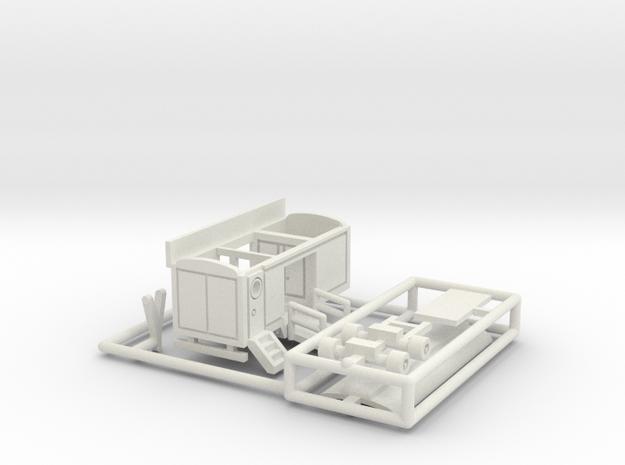 Kleiner Eingangswagen für 1:220 (z scale) 3d printed