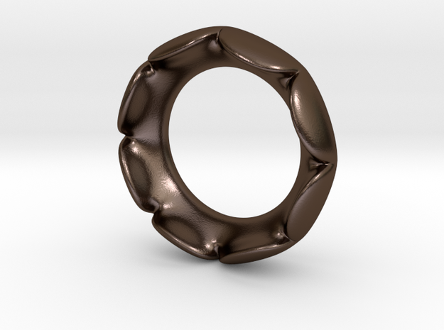 Flower Ring - Size 6.5 3d printed