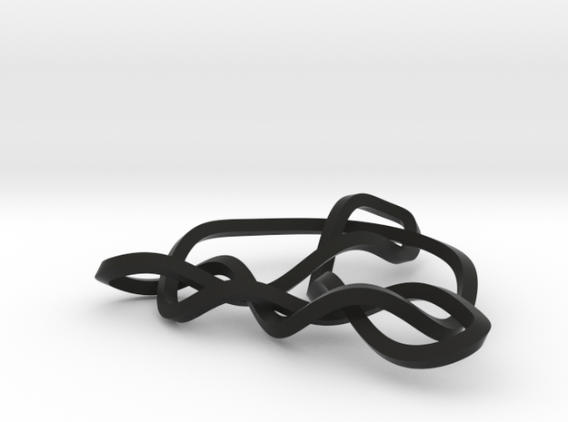3D Trinity Knot 3d printed
