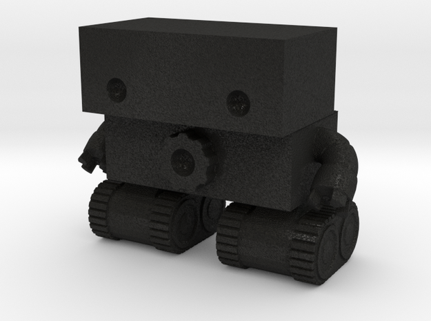Robot 0025 Tank Tread Bot With Cog And Hands 2.5 t 3d printed