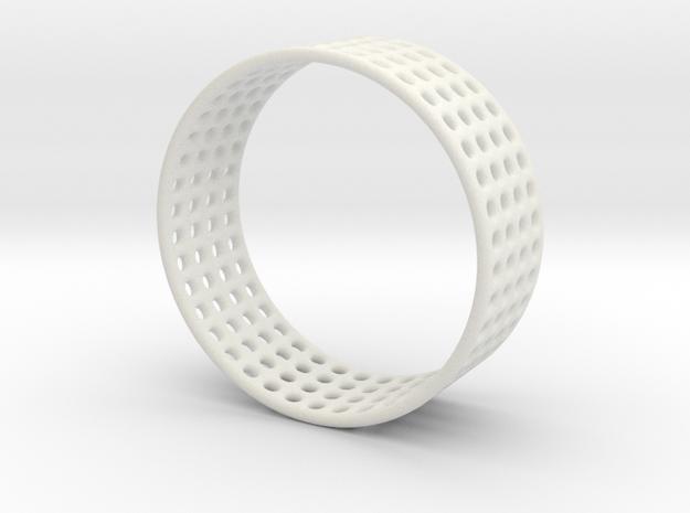 Porous ring in White Natural Versatile Plastic